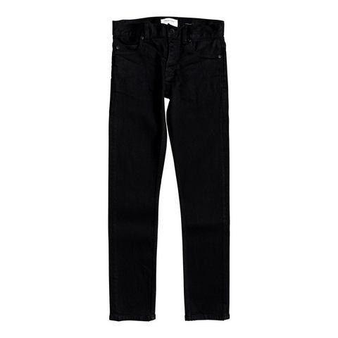 Quiksilver skinny fit jeans Killing Zone Black Black