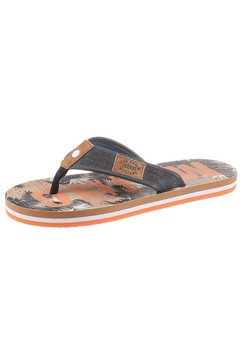 mustang shoes teenslippers grijs