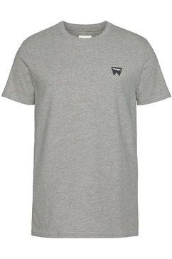 wrangler t-shirt grijs