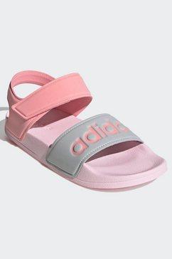 adidas performance sandaaltjes adilette roze