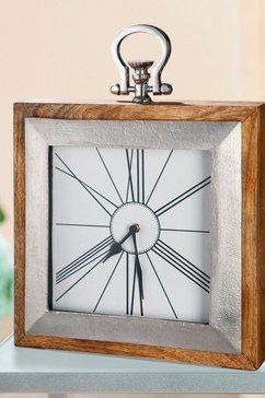 gilde staande klok klok empire hoogte 36 cm, hoekig, woonkamer (1 stuk) bruin