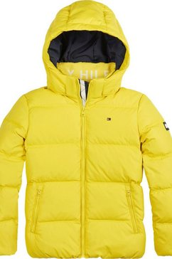 tommy hilfiger donsjack »essential down jacket« geel