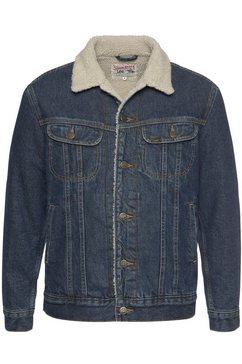 lee jeansjack »sherpa« blauw