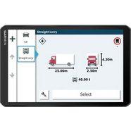 garmin navigatiesysteem voor vrachtwagen dēzl™ lgv 1000 zwart