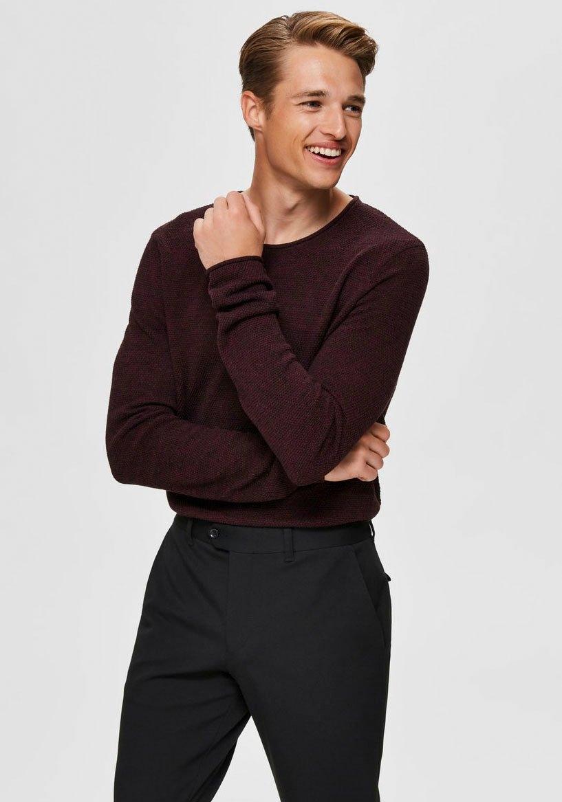 Op zoek naar een SELECTED HOMME trui met ronde hals ROCKY CREW NECK? Koop online bij OTTO