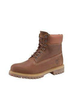 """timberland hoge veterschoenen »6"""" premium boot« bruin"""