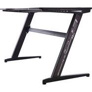 mca furniture gamingtafel »gaming tisch« zwart