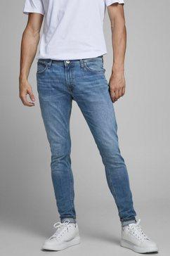 jack  jones skinny fit jeans tom original blauw