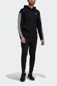 adidas performance trainingspak adidas sportswear ribbed insert zwart