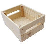 adob houten kist beige