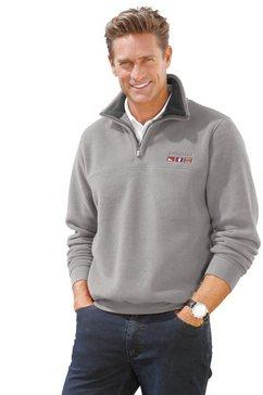 catamaran fleece-shirt grijs