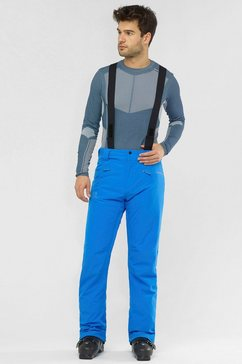 salomon skibroek stance blauw