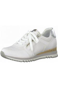 marco tozzi sneakers met fijne perforatie wit