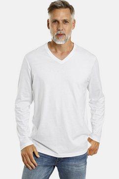 jan vanderstorm shirt met lange mouwen »amund« (set van 2) wit
