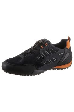 geox sneakers u snake met gepatenteerde, speciale geox-membraan blauw