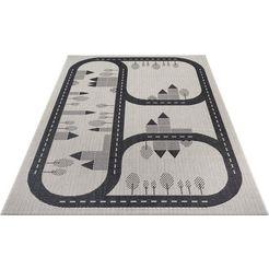 luettenhuett vloerkleed voor de kinderkamer »conrad« zwart