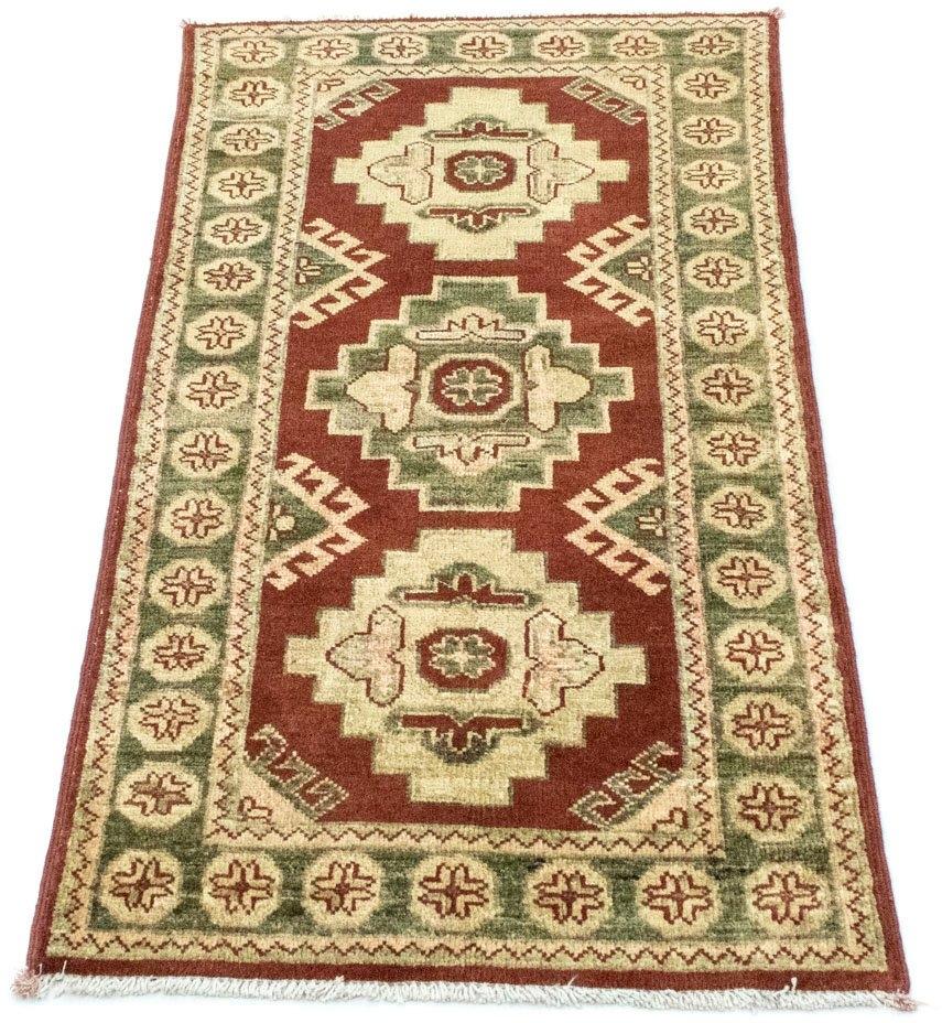 morgenland wollen kleed Ziegler Teppich handgeknüpft rot nu online kopen bij OTTO