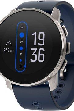 suunto smartwatch 9 peak blauw