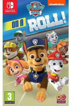 nintendo switch game paw patrol: on a roll