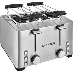 gutfels »ta 8301 isw« toaster zilver