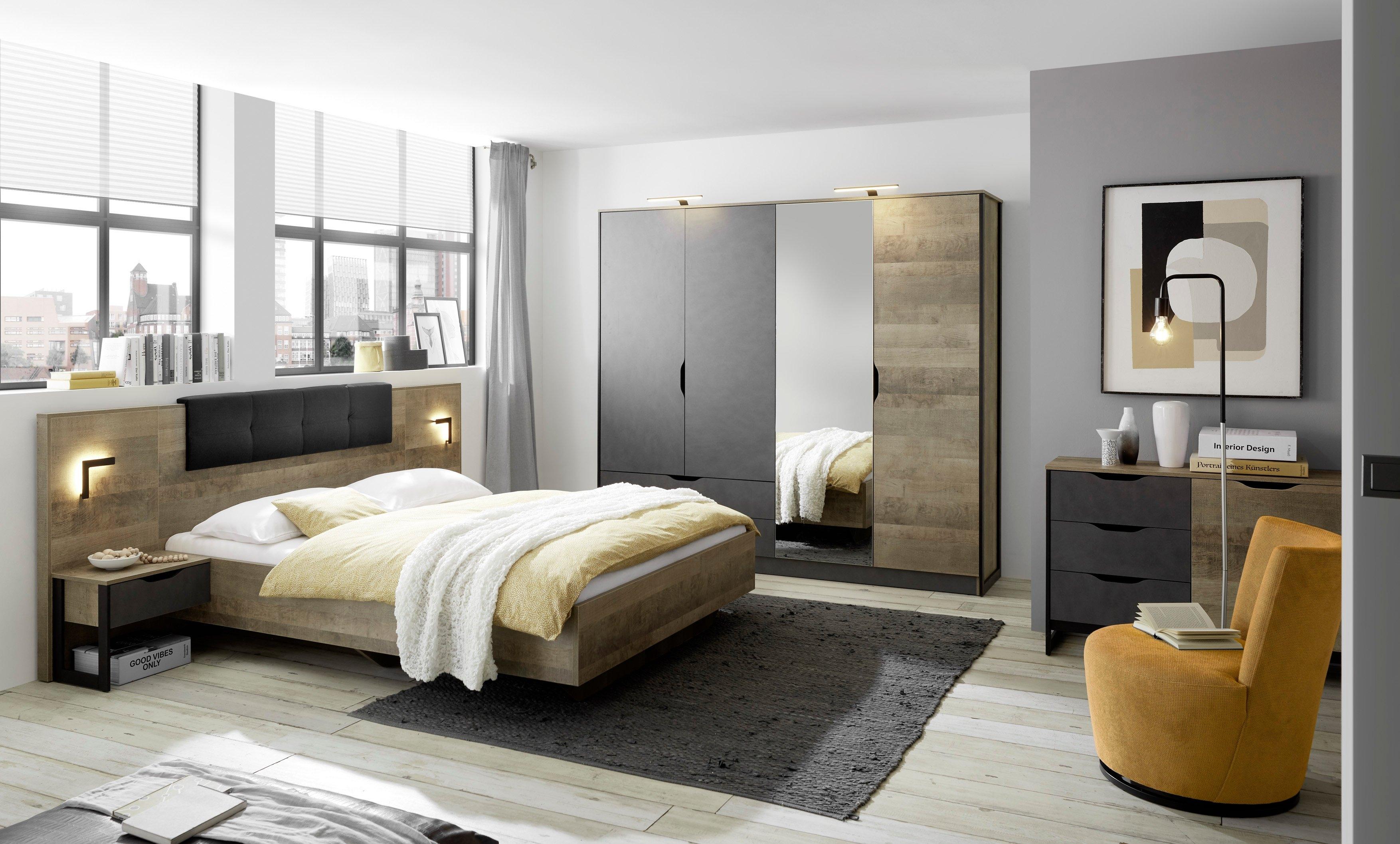 Places of Style slaapkamerserie MALTHE in trendy design (set, 5 stuks) goedkoop op otto.nl kopen