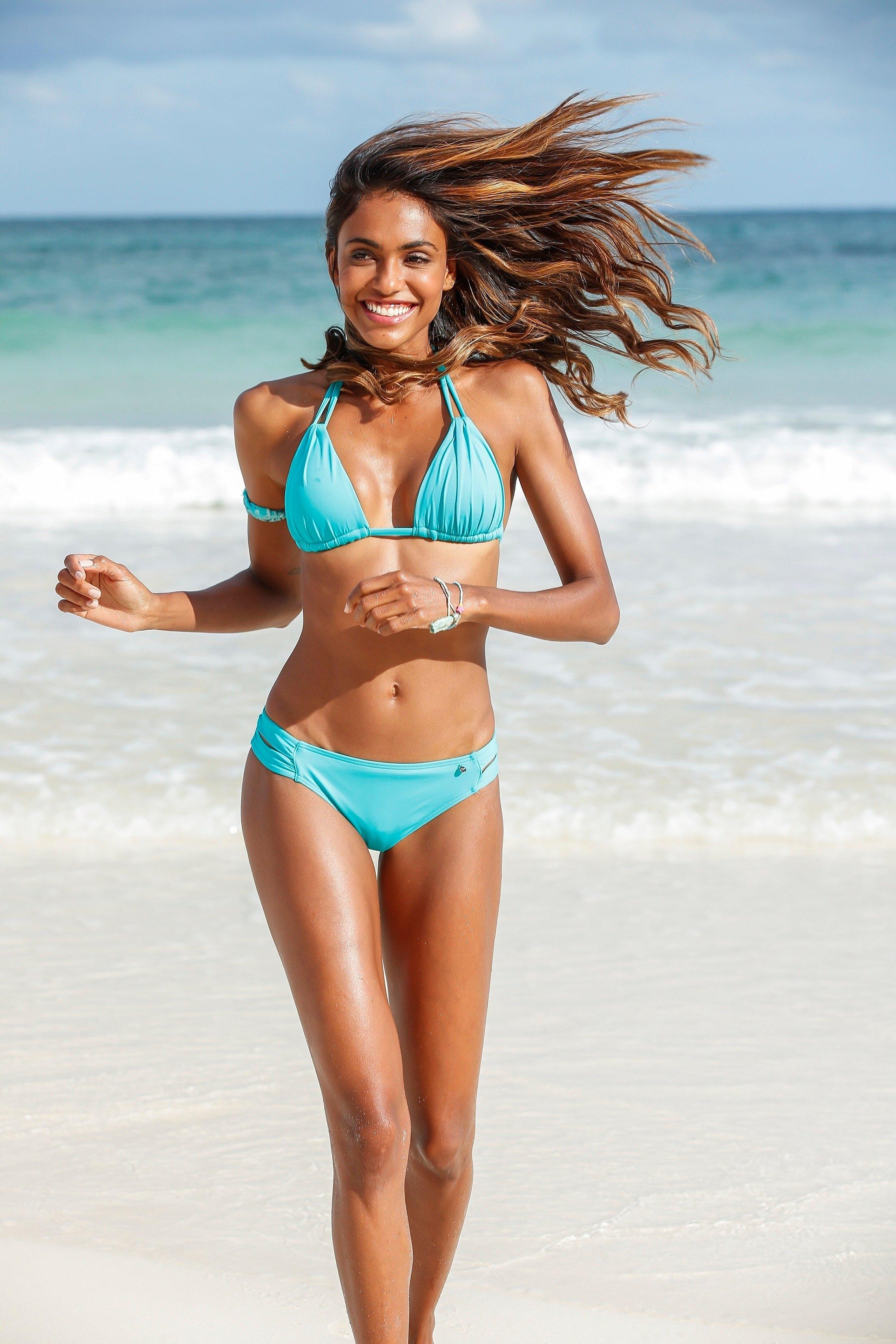 s.Oliver RED LABEL Beachwear bikinibroekje Spain met aangerimpelde zijbandjes goedkoop op otto.nl kopen