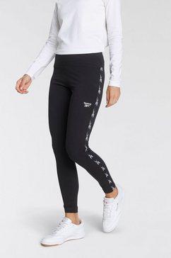 reebok legging te tape pack legging zwart