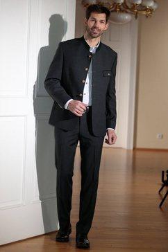 kostuum in klederdracht-look grijs