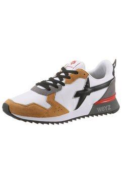 w6yz sneakers jet m met logo opzij wit