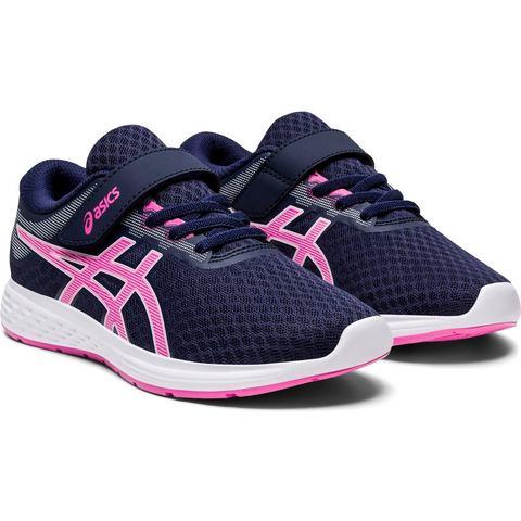 ASICS Patriot 11 PS hardloopschoenen donkerblauw-roze meisjes