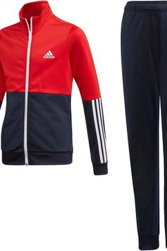 adidas performance trainingspak »girls tracksuit« blauw