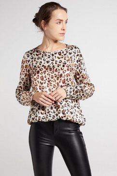 eterna blouse zonder sluiting 1863 by eterna - premium lange mouwen blouse bruin