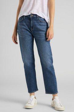 lee straight jeans »carol« blauw