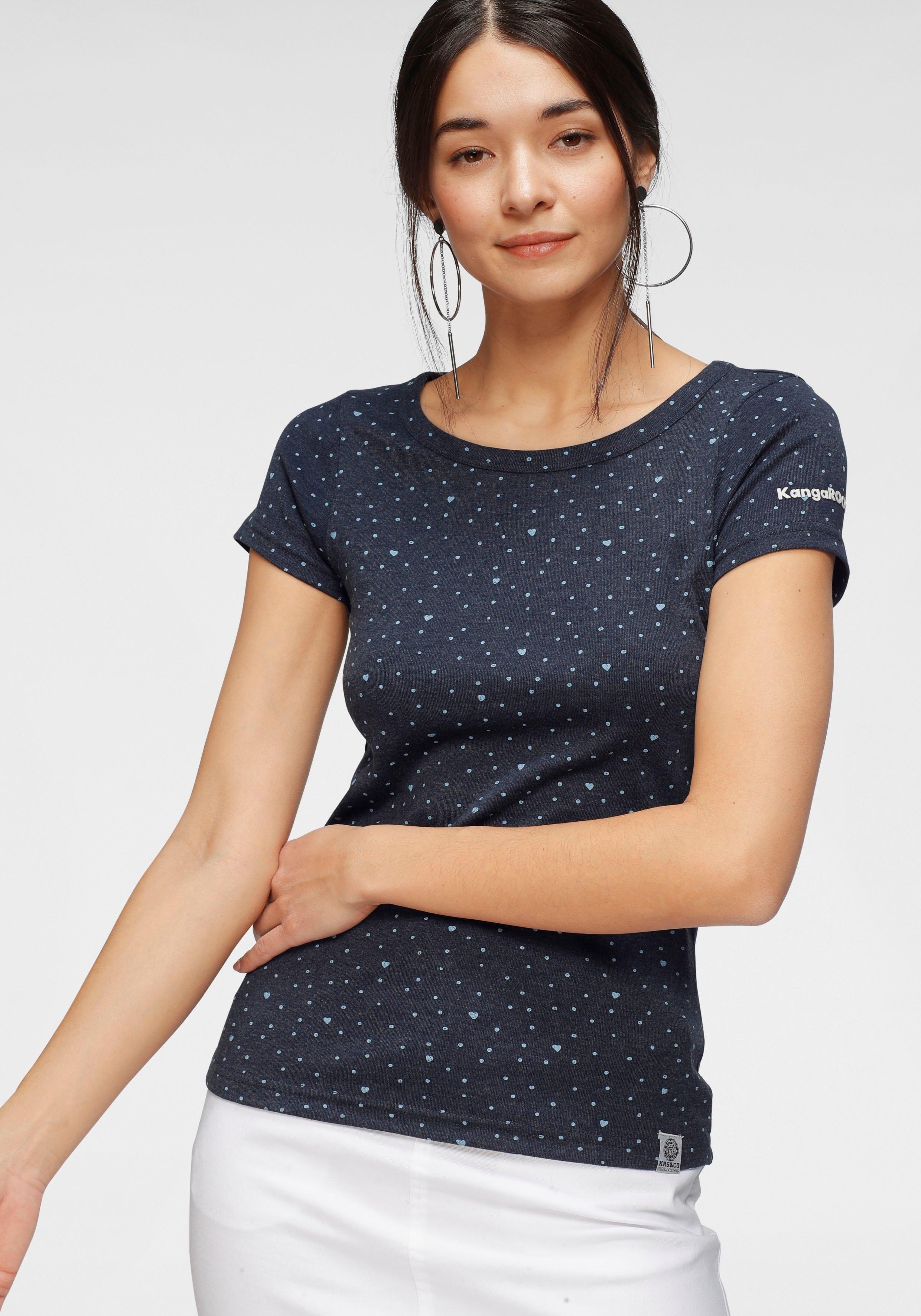 KangaROOS T-shirt met all-over- of met frontprint - verschillende betaalmethodes