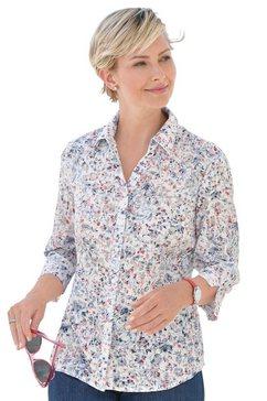 classic basics blouse met korte mouwen rood