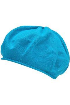 seeberger baret blauw
