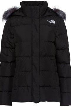 the north face gewatteerde jas »gotham« zwart