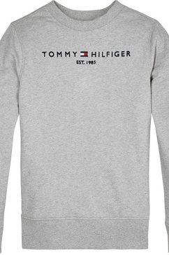 tommy hilfiger sweatshirt grijs