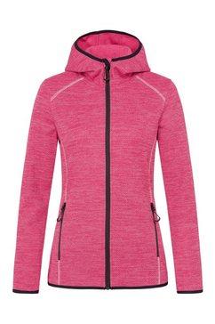 stedman fleecejack recycled fleece jacket superior van gerecycled materiaal (1 stuk) roze