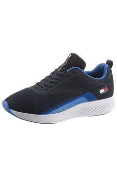tommy sport sneakers ts sport 2 met praktische aantreklus blauw
