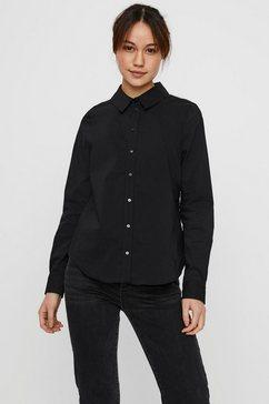 vero moda klassieke blouse vmjulie zwart