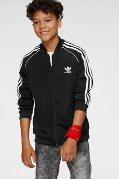 adidas originals trainingsjack »superstar tracktop« zwart
