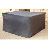 konifera beschermhoes »mailand - santiago«, gartenmoebelset, (l-b-h) 170x170x90 cm grijs