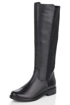 remonte laarzen in klassieke lijn zwart