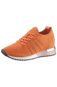 la strada sneakers met sleehak »fashion sneaker« oranje