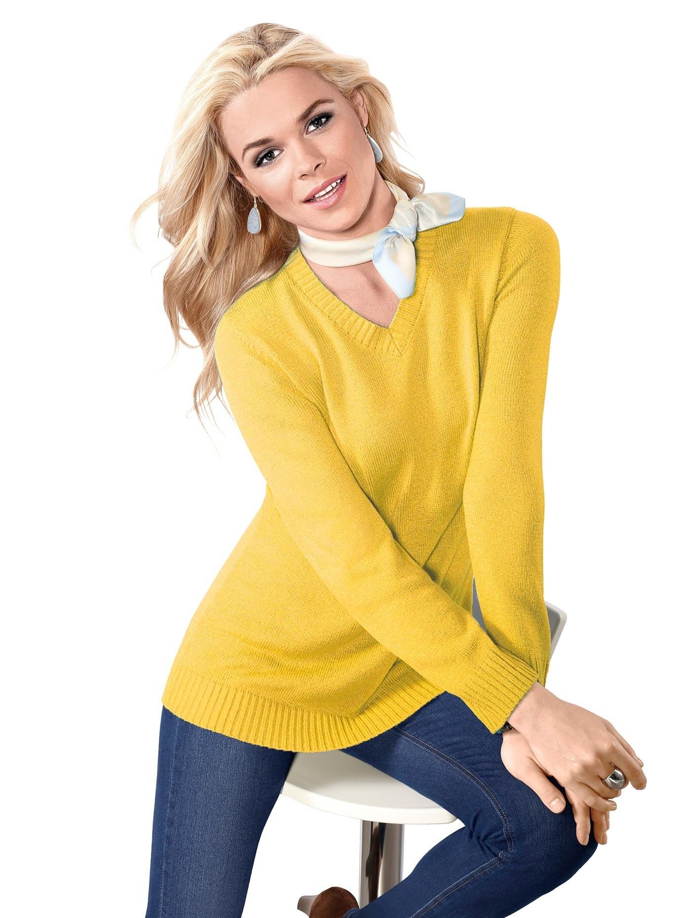 Classic Basics trui met V-hals Trui voordelig en veilig online kopen