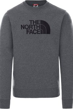 the north face sweatshirt »drew peak« grijs