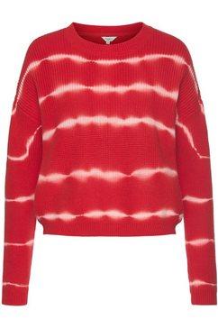 pepe jeans trui met ronde hals olga rood