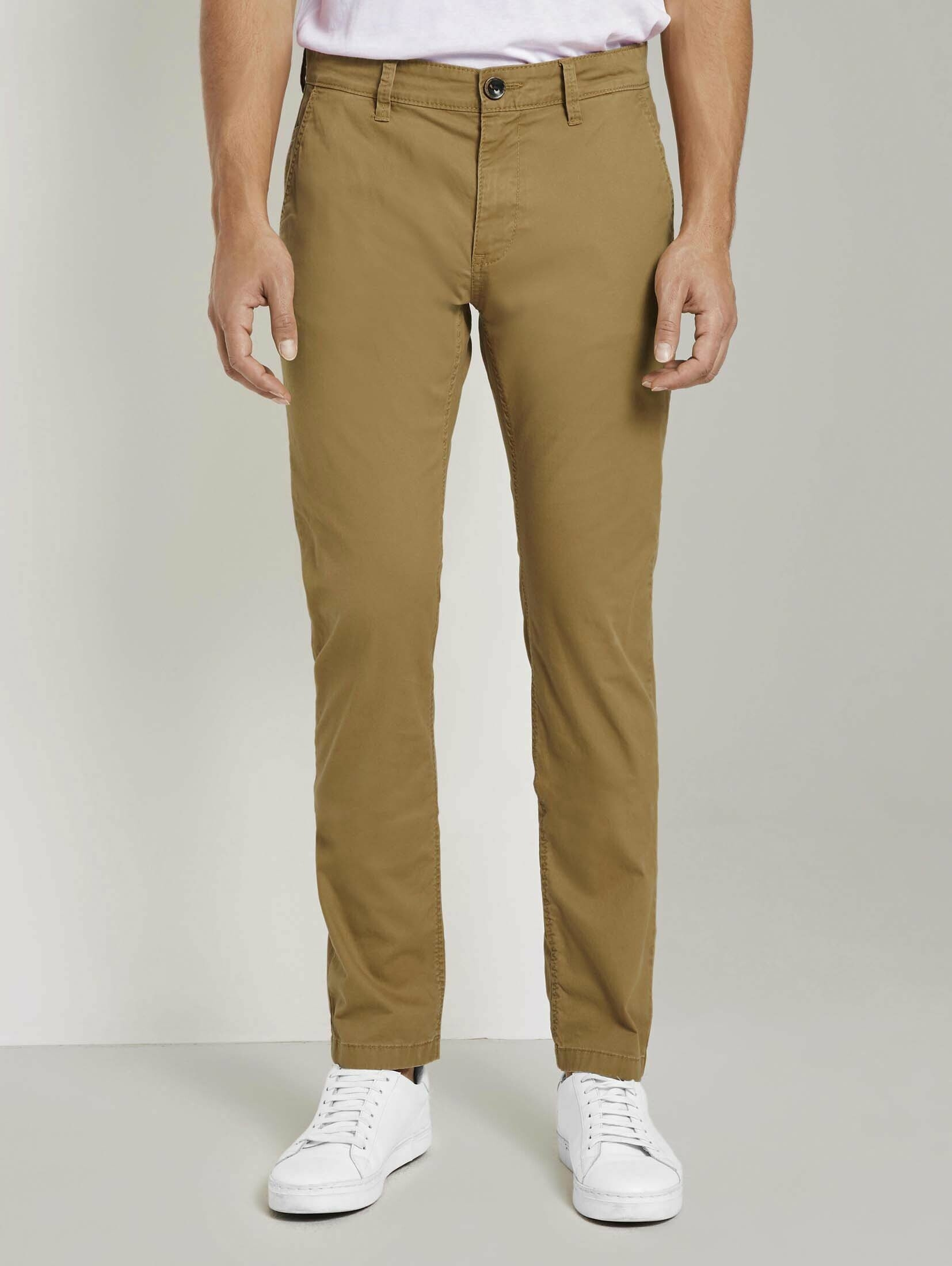 Tom Tailor chino »Travis Slim Chino Hose im Washed-Look« online kopen op otto.nl