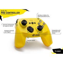 snakebyte »bvb pc-controller pro« pc-controller geel